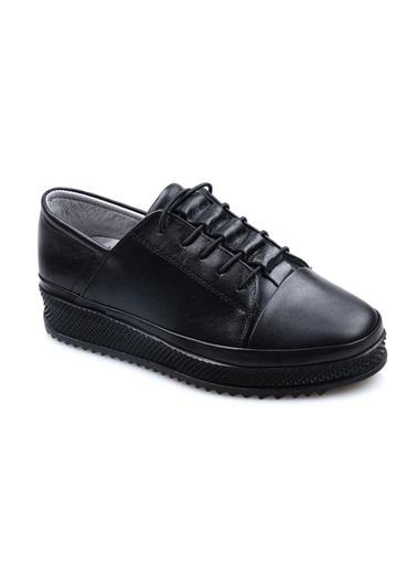 Pandora Mc309 Orto Pedik Deri Bayan Günlük Ayakkabı Taba